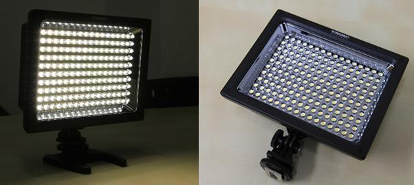 160灯LED照明が凄く安かった、またまたYUNGNUO製品