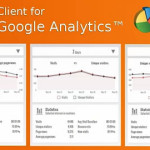 google analysticsの便利なchromeのアドオン Client for Google Analytics