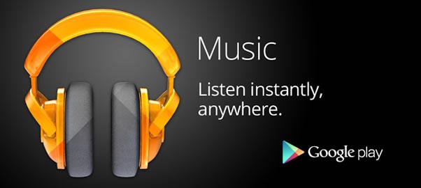 Google Play Musicは最高のサービス、ネット環境があれば2万曲を持ち歩ける