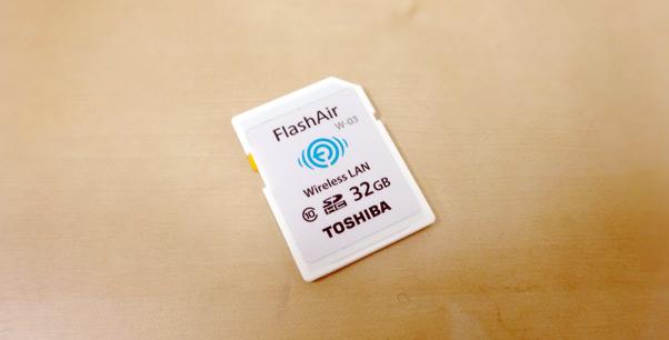 東芝 TOSHIBA 無線LAN搭載 FlashAir III